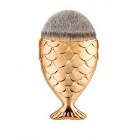 Кисть для макияжа Рыбка (натуральный ворс) фото