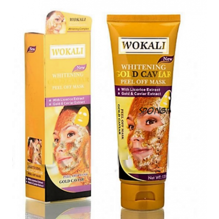 Маска для лица Wokali Gold Caviar Peel Off Mask