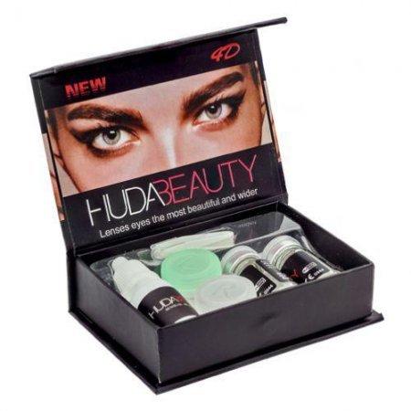 Линзы контактные декоративные Huda Beauty Gemstone Green