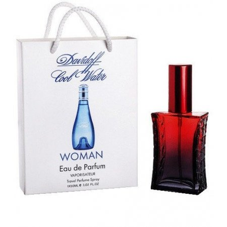 Davidoff Cool Water Woman - Travel Perfume 50ml