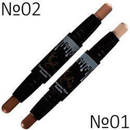 Консилер 2 в 1 Kylie Holiday Edition Concealer Pens Double 01