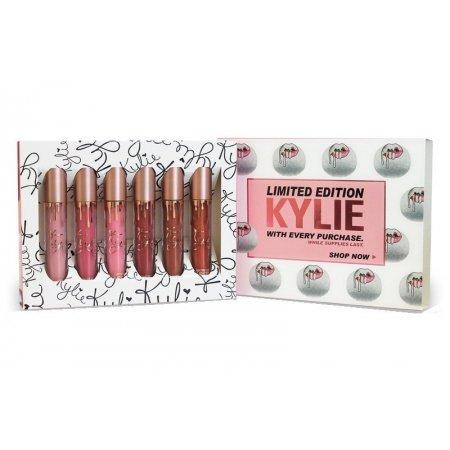 Набор жидких матовых помад Kylie Limited Edition (палитра В)