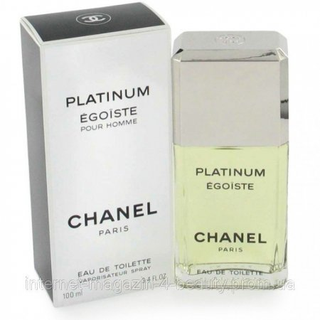 Chanel Egoiste Platinum EDT 100 ml (лиц.)