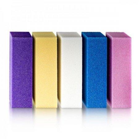 Баф для полировки ногтей, разноцветный