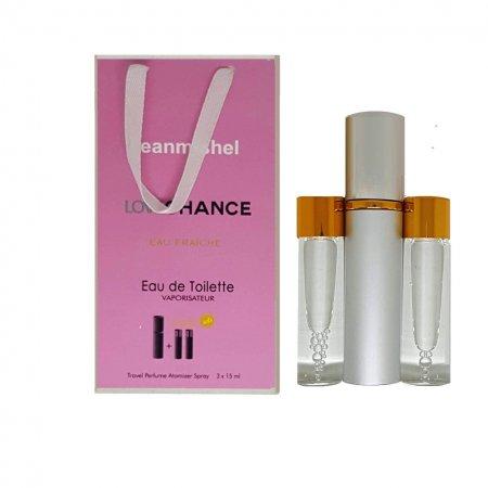 Jeanmishel Love Chance Eau Fraiche (13) 3 x 15 ml