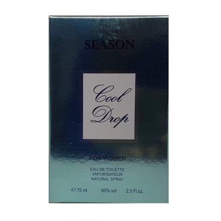 Season Cool Drop for women edt 75ml
