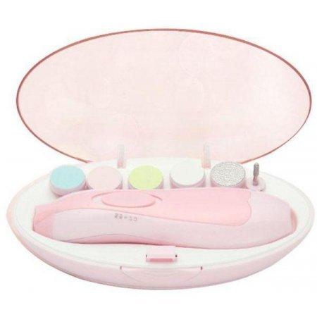 Набор для маникюра Baby's Manicure Set (6 насадок) Розовый