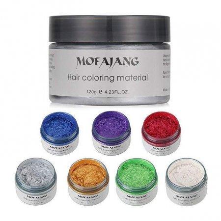 Окрашивающий воск для волос Mofajang Фиолетовый