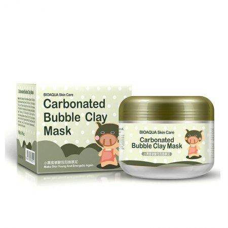 Маска для лица Bioaqua Carbonated Bubble Clay Mask 100g