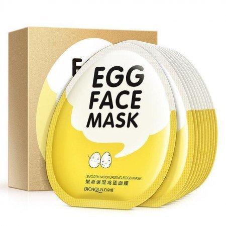 Маска для лица Bioaqua Egg face Mask