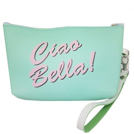 Косметичка зеленая Ciao Bella