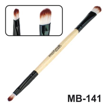 Кисть для жидких помад, консилеров, хайлайтеров и кремообразных теней maXmaR MB-141