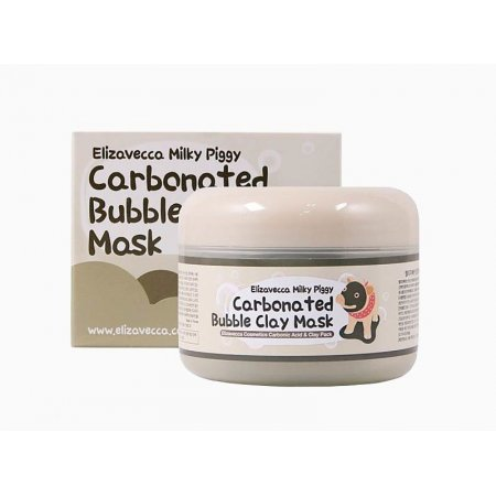 Маска для лица Elizavecca Milky Piggy Carbonated Bubble Clay Mask 100g