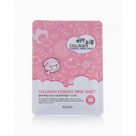Маска тканевая c коллагеном Esfolio Pure Skin Collagen Essence Mask Sheet фото