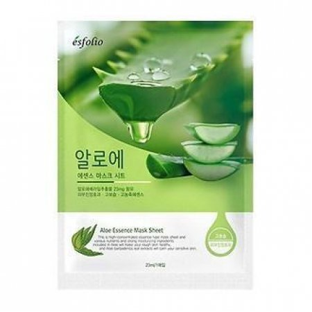 Маска тканевая c алоэ Esfolio Aloe Essence Mask Sheet