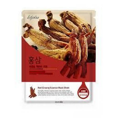 Маска тканевая c красным женьшенем Esfolio Red Ginseng Essence Mask Sheet