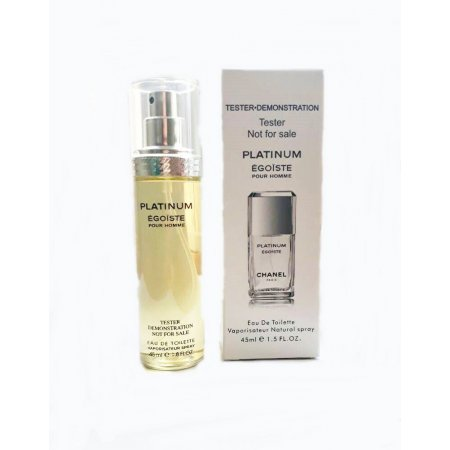 Тестер Chanel platinum egoiste 45 ml