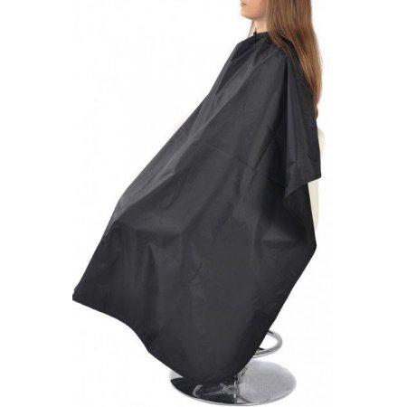 Накидка парикмахерская (черная) Salon