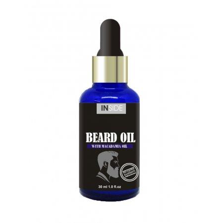 Масло для бороды с феромонами Inside Beard Oil Macadamia