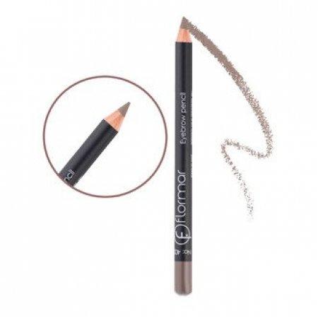 Карандаш для бровей Flormar Eyebrow Pencil 401 светло-бежевый, Светло-бежевый