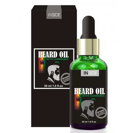 Масло для бороды с феромонами Inside Beard Oil Сannabis