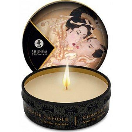 Массажная свеча Shunga Massage Candle Vanilla Fetish 30ml