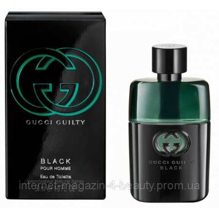 Gucci Guilty Black Pour Homme edt 90 ml (лиц.)