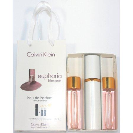Calvin Klein Euphoria Blossom edt 3x15ml - Trio Bag