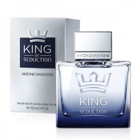 Antonio Banderas King of Seduction edt 100ml (лиц.)