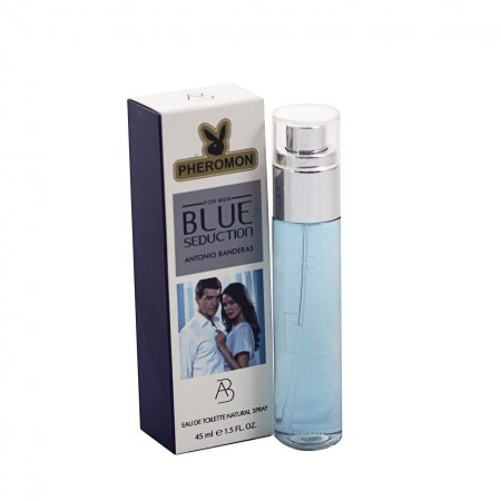 Antonio Banderas Blue Seduction edt - Pheromone Tube 45 ml