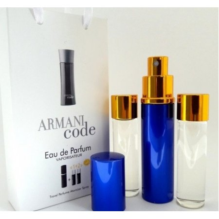 Armani Code for men 3x15ml - Trio Bag