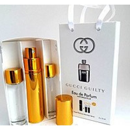 Gucci Guilty edt 3x15ml - Trio Bag