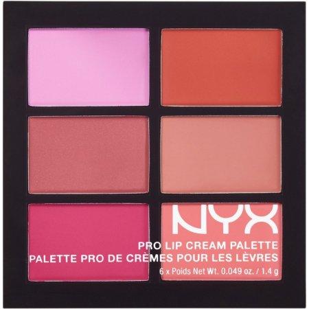 Помада палетка NYX Pro Lip Cream The Reds