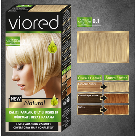 Краска для волос Viored 0.1