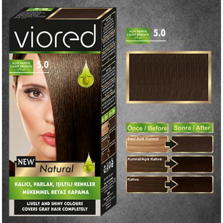 Краска для волос Viored 5.0