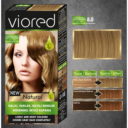 Краска для волос Viored 8.0