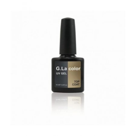 Верхнее покрытие для гель-лака G.La Color UV Gel Top Coat 10ml