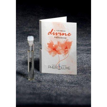 Пробник женских духов с феромонами Pheroluxe Divine 2ml