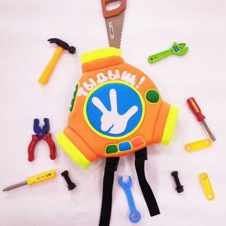 Рюкзак-помогатор детский Фиксики с Вашей надписью фото