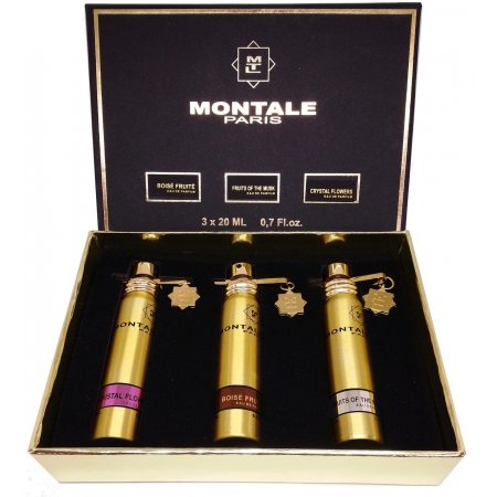 Набор Montale (Boise Fruite, Fruits of the Musk, Crystal Flowers)