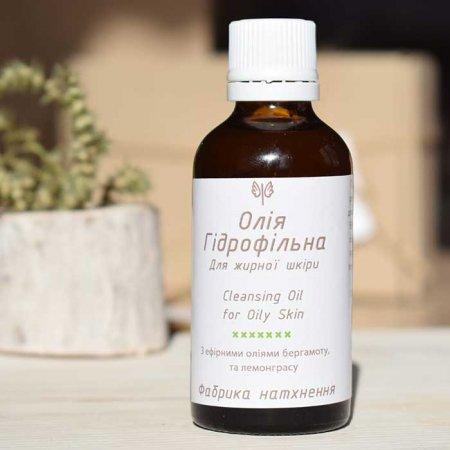 Гидрофильное масло для жирной и комбинированной кожи