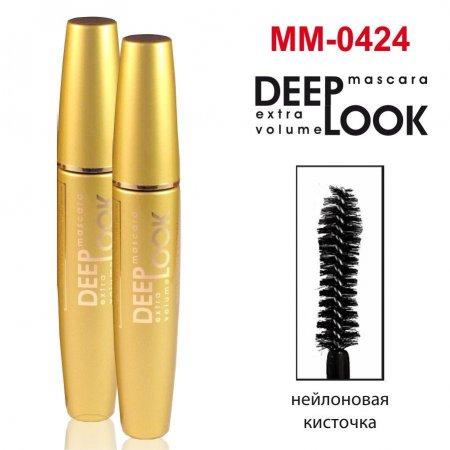 Тушь для ресниц Gold Mascara Deep Look maXmaR MM-0424