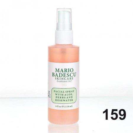(Код № 159) Спрей для лица с экстрактом Алое Вера и Розовой водой 118 ml (реплика)