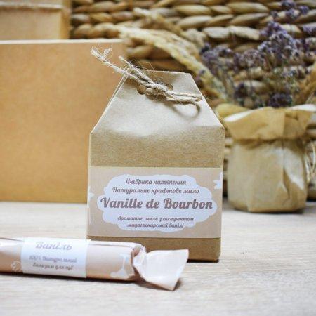 Крафтовое мыло Vanille de Bourbon