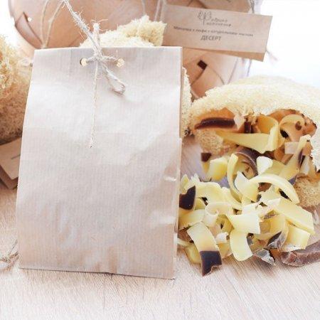 Мыло-наполнитель для натуральной мочалки Десерт