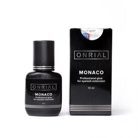 Профессиональный клей для наращивания ресниц «Monaco» (0,5 сек.) 10 мл