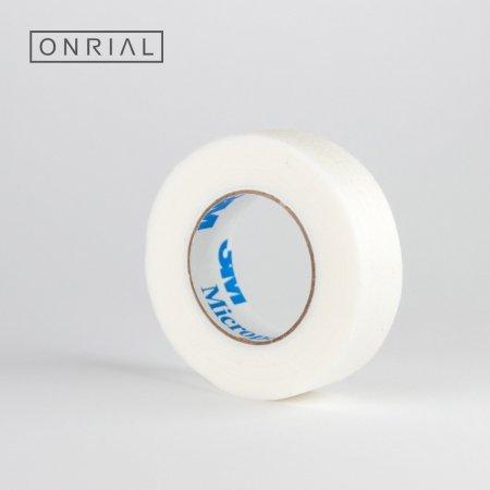 Скотч для наращивания ресниц (белый) 1 см