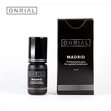 """Профессиональный клей для наращивания ресниц """"Madrid"""" (0,5-1 сек.) 5 мл"""