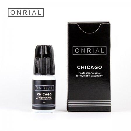 """Профессиональный клей для наращивания ресниц """"Chicago"""" 0,5 сек."""