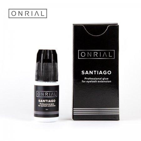 """Профессиональный клей для наращивания ресниц """"Santiago"""" 1 сек. 5 мл"""